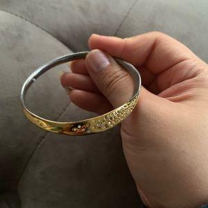 Alexis Bittar Bel Air twist skinny bracelet